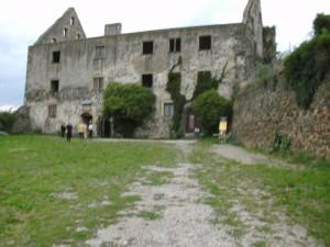 Burkheimer Schlossruine